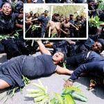 Women of Jos protest in Abuja