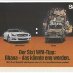 Racist World Cup Ad by German car rental SIXT: No Waving Flags
