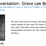 People worth listening to:  Grace Lee Boggs