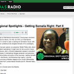 Africa Regional Spotlights - Getting Somalia Right: Part II