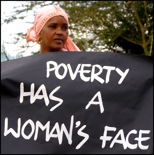 Poverty and women
