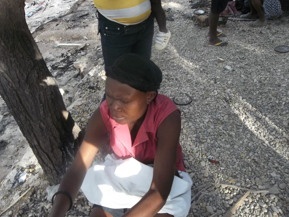 Haiti: - People Cleansing, burning down the camps