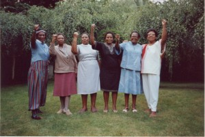 Gloria Joseph, Audre Lorde, Ellen Kuzwayo and other Sisters from South Africa (pre- the ending of the Apartheid regime)  copyright: Dagmar Schultz