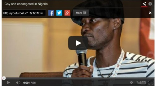Bisi Alimi - http://www.ynaija.com/watch-gay-rights-activist-bisi-alimi-speaks-to-amanpour-on-cnn/